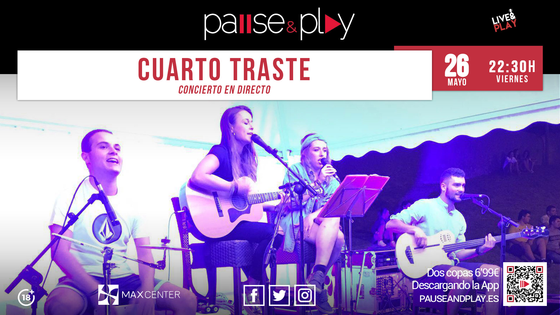 PAUSE&PLAY MAX CENTER