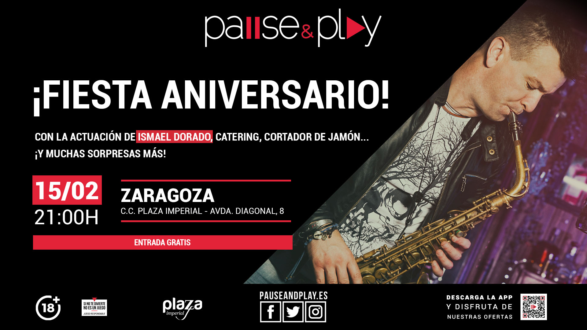 PAUSE&PLAY PLAZA IMPERIAL